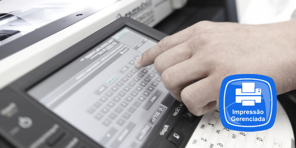 Software de gerenciamento e bilhetagem de impressão