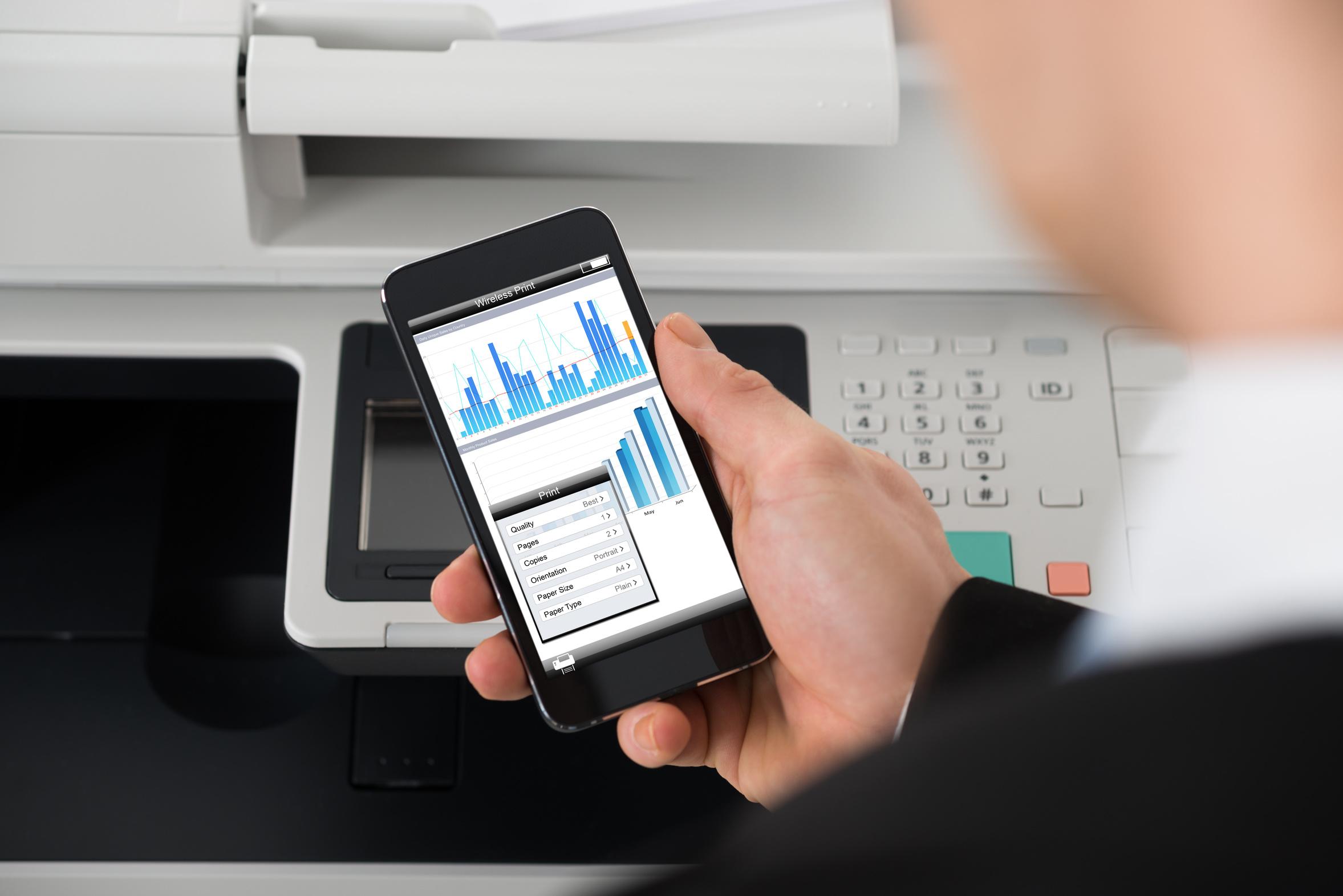 Software de Monitoramento de Impressoras