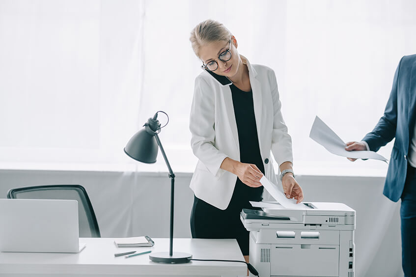 4 coisas a considerar ao comprar uma impressora para o escritório
